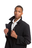 Young African American Male Model Isolated Stock Image