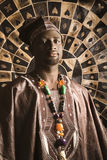 Young African American Man in Traditional African Stock Images