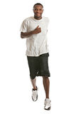 Young African American Runner Indoor Isolated Stock Photos