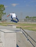 Young African American Skateboarder Royalty Free Stock Image