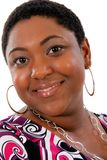Young African American Woman Beautiful Smile Royalty Free Stock Photo