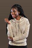 Young African American Woman Royalty Free Stock Images