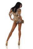 Young African American Woman posing Royalty Free Stock Photography