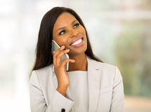 Young african business executive Royalty Free Stock Image