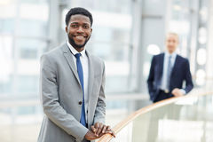 Young African Business Leader Stock Images