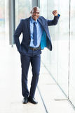 Young african businessman Stock Photography