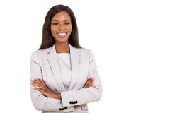 Young african businesswoman Royalty Free Stock Photography