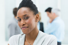 Young African Businesswoman Royalty Free Stock Photos