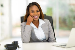 Young african businesswoman Stock Images