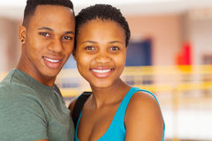 Young african couple Stock Photo
