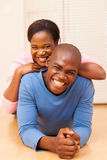 Young african couple Royalty Free Stock Photography
