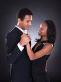 Young African Couple Dancing Stock Images