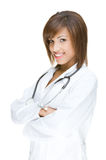 Young african doctor Stock Photography