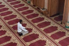 Young African Guy Praying Stock Photos