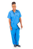 Young african nurse Royalty Free Stock Image