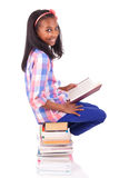Young african Student isolated on white background Stock Photo
