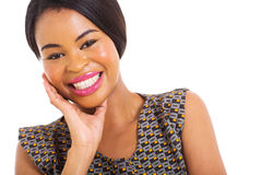 Young african woman Royalty Free Stock Image