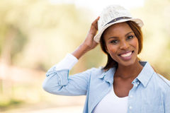 Young african woman Royalty Free Stock Images