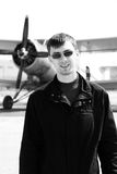 Young airman Stock Image