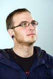 Young alternatively man stock photos