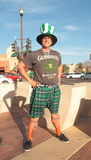 USa, AZ/Tempe: St. Patricks day - Irish Roots? Royalty Free Stock Image