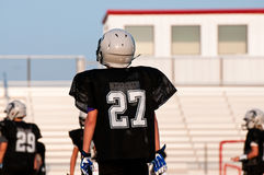 Young american football player Stock Images