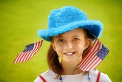 Young American Girl Royalty Free Stock Photos
