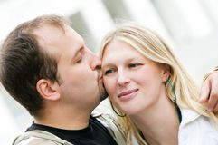 Young amorous couple in love Royalty Free Stock Photography