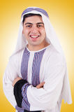Young arab man isolated Royalty Free Stock Photo