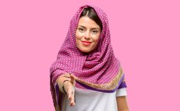 Young arab woman royalty free stock image