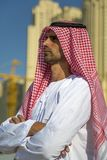 Young arabian business man Stock Images
