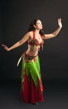 Young Arabian dancer with saber Stock Images