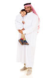 Young arabian father son Royalty Free Stock Photos