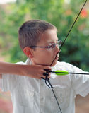 The Young Archer Stock Image