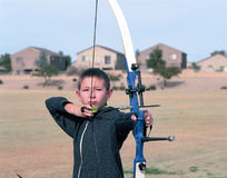 Young Archer Royalty Free Stock Images