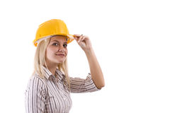 Young architect royalty free stock photography