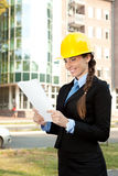 Young architect, outdoor Stock Photography