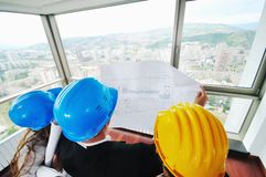 Young architect team Royalty Free Stock Photo