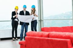 Young architect team Royalty Free Stock Photography