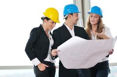 Young architect team Royalty Free Stock Image