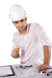 Young Architect at Work Stock Photography