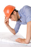 Young architect working Stock Images