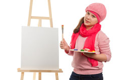 Young artist Royalty Free Stock Photos
