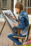 Young artist Royalty Free Stock Images