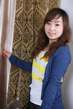 Young asia girl Royalty Free Stock Images