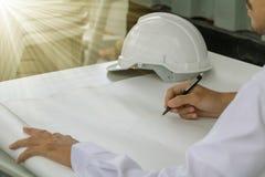 Young Asia man engineer. Stock Photos