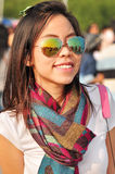 Young Asia woman Travels Stock Images