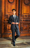 Young Asian American Business Man in New York Stock Images