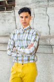 Young Asian American Man in New York Royalty Free Stock Image