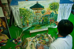 Young asian art Painter Stock Images